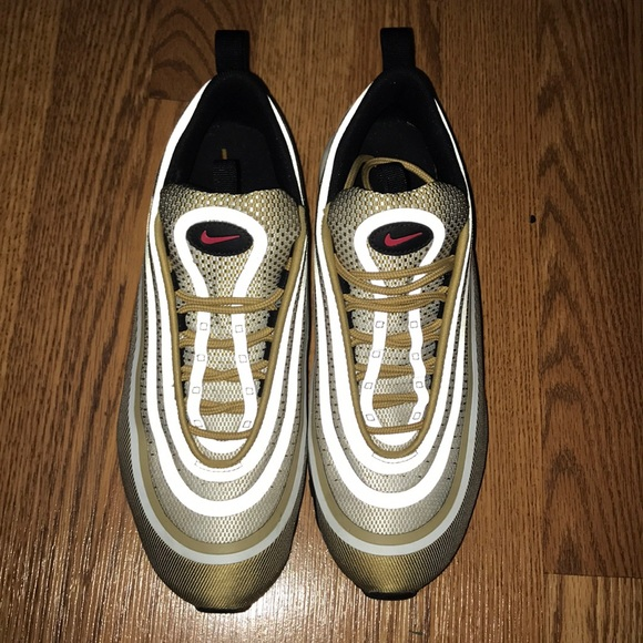 incredible prices 100% quality run shoes Nike Air max 97 ultra 17 metallic gold